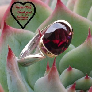 RED GARNET RING📁 Authentic💯HP